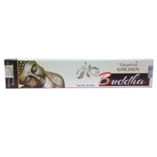 Vijayshree Golden Buddha Masala Incense Sticks (1 x 15g box)